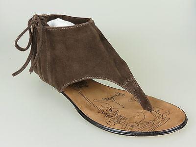 Why Not Sandaletten Wildleder D.brown Suede 222016 **neu** Verschiedene Größen