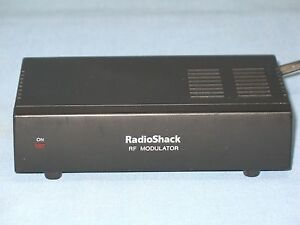 Radio Shack Rf Modulator 15 1244 4029313639 Ebay