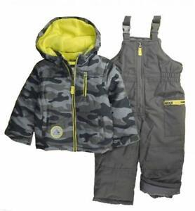 Carter/'s Infant Boys Blue 2pc Snowsuit Size 12M 18M 24M