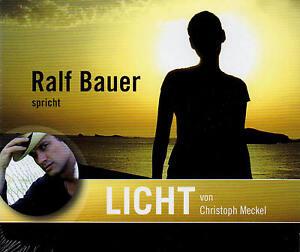 Licht-Christoph-Meckel-Sprecher-Ralf-Bauer-Hoerbuch-2-CD-NEU-B-WARE
