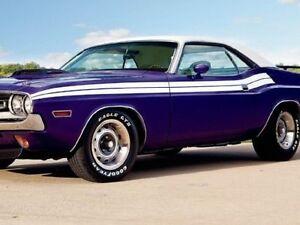 1971 Dodge Challenger R/T Side Stripes Kit