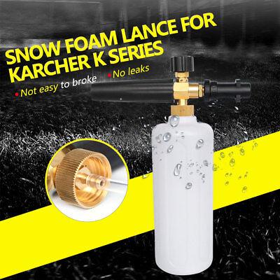 Snow Foam Lance Autowäschedüse Cannon Hochdruckseife Flasche für Karcher K-Serie