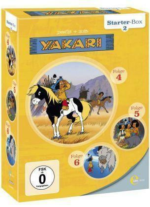 1 von 1 - YAKARi Starter-Box 2 (2015) Folge 4-6 - 3 DVD - NEU&OVP