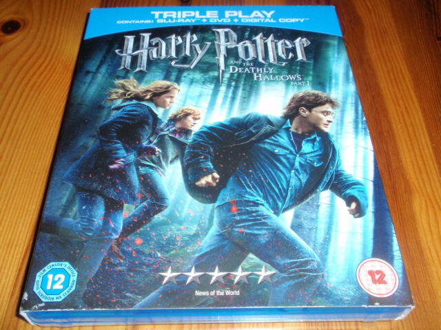 Harry Potter and The Deathly Hallows Part 1 [Region Free] [BLU-RAY&DVD] [2010]