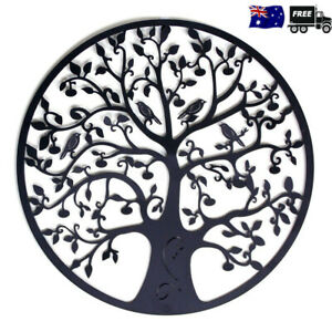 Tree-of-Life-Metal-Hanging-Wall-Art-Round-Hanging-Sculpture-Garden-Office-Decor