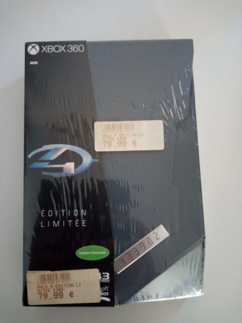 halo 4 IV edition limitée collector xbox360 xbox 360 neuf sous blister