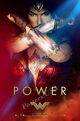 FIL048 DC Wonder Woman Movie Poster Glossy Finish Posters USA