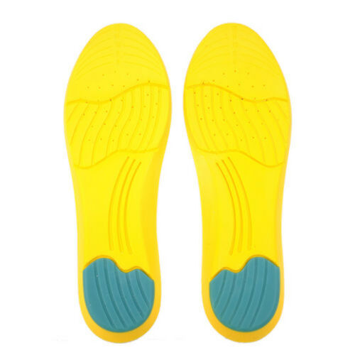 1 Pair Man//Woman High Memory Foam Insoles Orthotic Arch Shoe Pads Foot Cushion