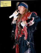 POISON Bret Michaels Every Rose Has Its Thorn Flesh & Blood  8 X 10 PHOTO 1