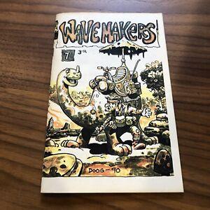 WAVEMAKERS-7-1989-Canada-UNDERGROUND-COMICS-COMIX-Zine-GEIER-MACDOUGALL