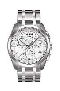 TISSOT-COUTURIER-MENS-CHRONOGRAPH-WATCH-T0356171103100-STAINLESS-STEEL-RRP-360