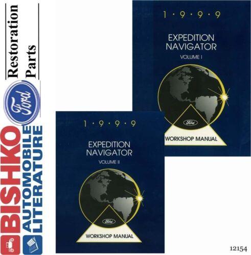 1999 Ford Navigator Expedition Mechanic Workshop Service Repair Manual CD OEM
