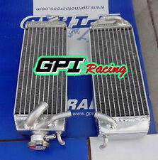 R&L aluminum radiator suzuki RM125 RM 125 RM125X RM125W RM125Y 1998-2000 1999 00