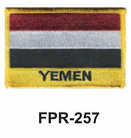 2-1/2'' X 3-1/2 Yemen Flag Embroidered Patch