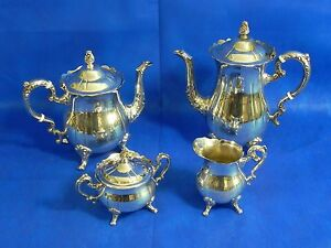 Vintage Silver Plated 4 Piece Coffee Tea Set Leonard Silver Plate NEW OLD STOCK & s-l300.jpg