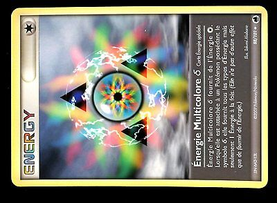 POKEMON ILE DRAGONS UNCO N°  88//101 ENERGIE MULTICOLORE