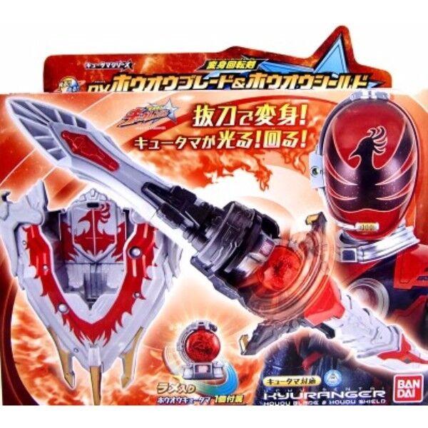 Nuovo BeAI Uchu Sentai Kyuranger  DX Ho-oh Blade & Hooh Shield with Ho-oh Kyutama  alta qualità genuina