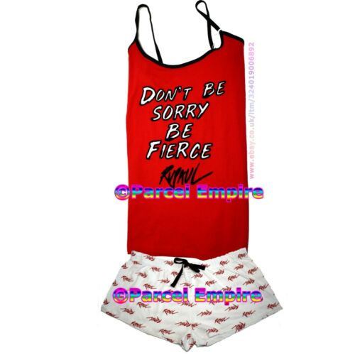 Official RUPAUL PYJAMA CAMI SET Vest /& Shorts Drag Race Gay Pride LGTB Pajama PJ