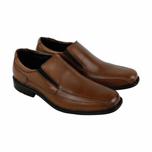 Kenneth Cole New York Men/'s Leather Slip On Shoe Loafers Brown