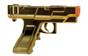 NEW-Loose-Gold-Sharp-Shot-Gun-for-Shooting-Games-for-Nintendo-Wii-Wii-U