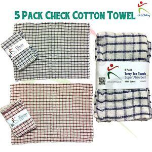 Westford Mill Glass cloth tea towel 100/% cotton cloths restaurant bar cafe