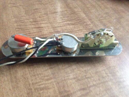 Fender Telecaster Upgrade Wiring Harness 500k CTS CRL Switch .047 Orange Drop