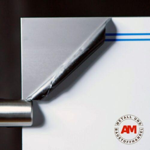 Glattblech Edelstahl 1500mm 1mm VA Blank Blech Edelstahlplatte nach Maß