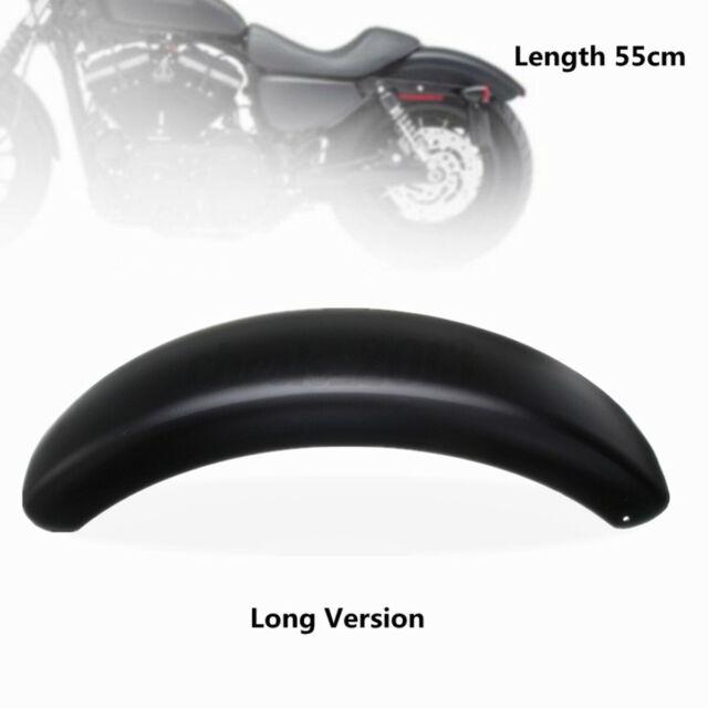 Black Motorcycle Rear Wheel Steel Trailer Mud Guard Fender For Bobber Chopper
