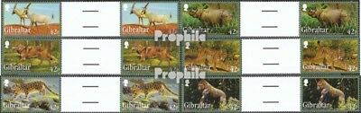 Topical Stamps Dedicated Gibraltar 1508zw-1513zw Between Steg Couples Mint Never Hinged Mnh 2012 Affected Animal Kingdom