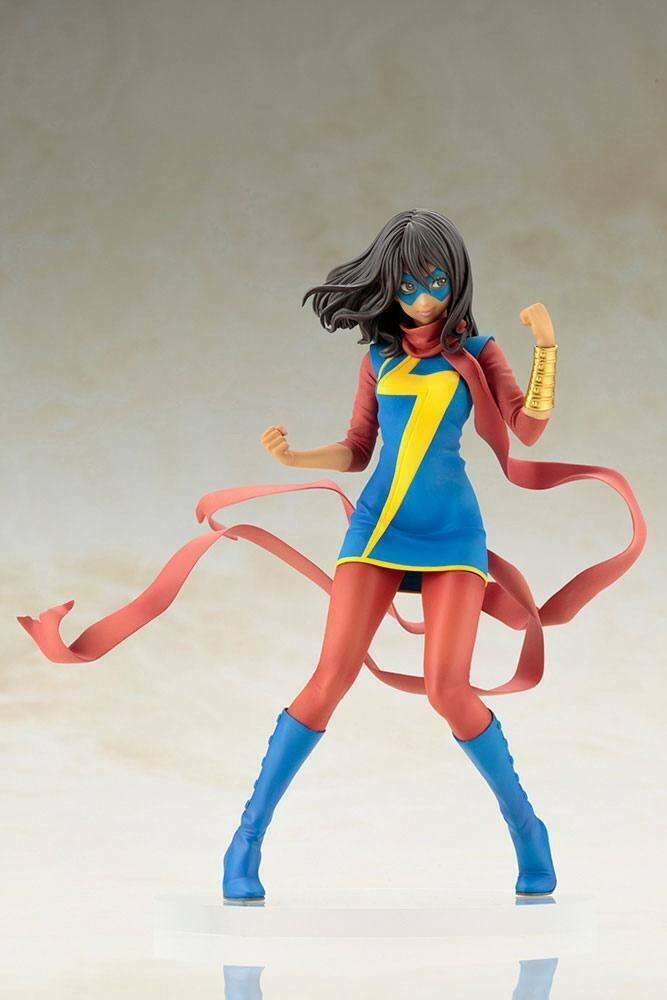 Marvel  Bishoujo Statua PVC 1 7 MS. Marvel (Kamala Khan) 19 cm KOTOBUKIYA  basta comprarlo