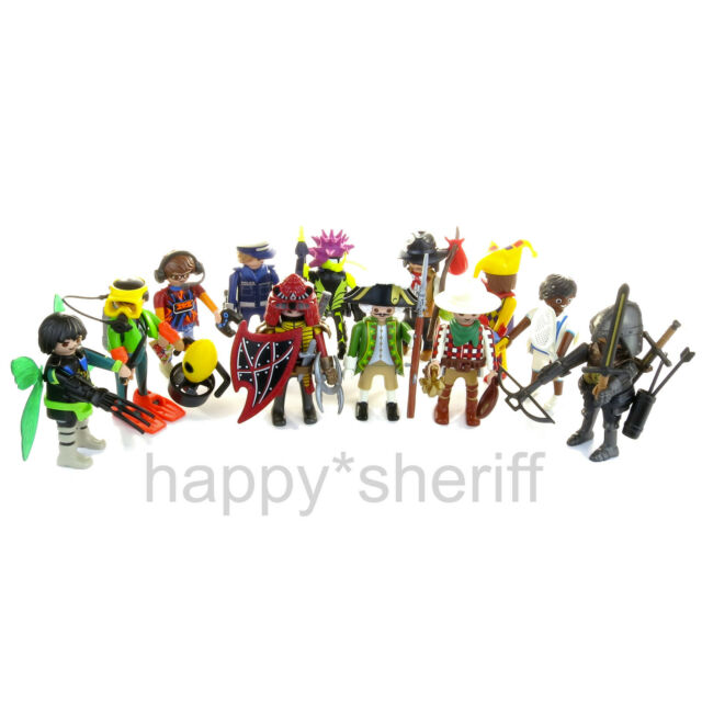 Playmobil ALL 12 Boy Figures Mystery Series 17 70242 New