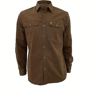Beautiful-Coleman Stretch Shirts  -  Face value-color Caramel- Large
