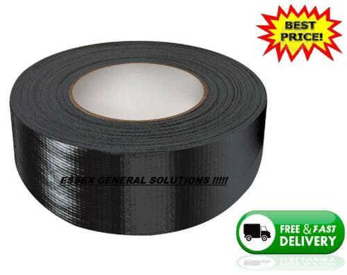 Big rollos de Conducto De Paño Negro Gaffa Gaffer Tape 48MM X 45M resistente al agua fuerte