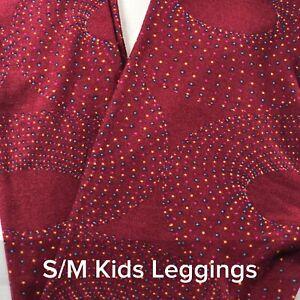 d4379f6c5580fc Image is loading LuLaRoe-S-M-Child-Kids-Leggings-LLR-BNWOT-Firework-