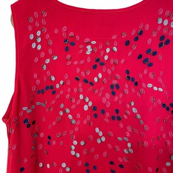 Belle Badgley Mischka   Embroidered & Beaded Dress - image 5