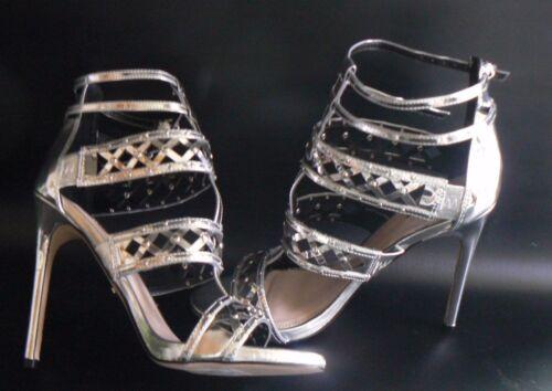 41 8 Eu Garland 2200016057632 Absatzschuhe Metallic Sandals Größe Uk Carvela Caged 2IW9EDH