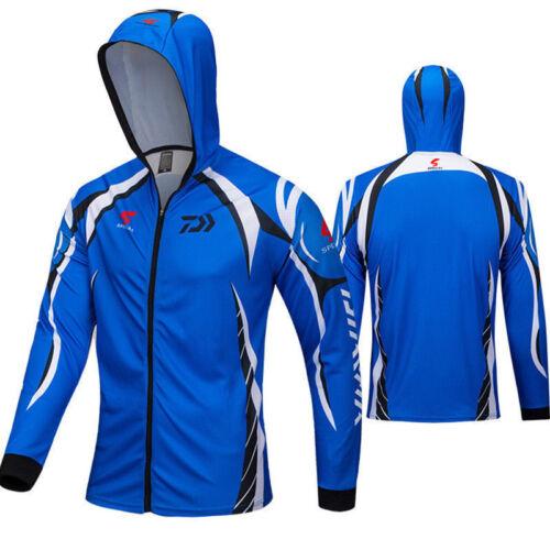 Quick-Dry Men Fishing Shirt New Jersey Long Sleeve Sweathershirt Outdoor HOT!