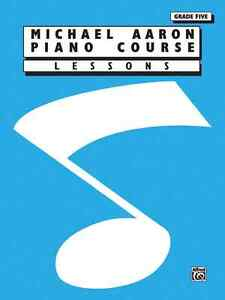 """michael Aaron Piano Course"" Lessons-grade 5(five) Music Book-brand New On Sale! Dessins Attrayants;"