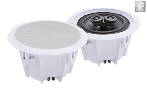 e-Audio Stereo Einbaulautsprecher wetterfeste Lautsprecher 20cm Feuchtraum B412B
