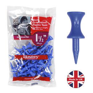 30-x-Stufentees-Doppelstock-Tees-Step-Tees-18mm-Farbe-blau