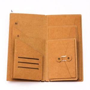 Kraft Paper Inner Sheet Traveler Notebook Envelope Folder File Folder Filing Bag