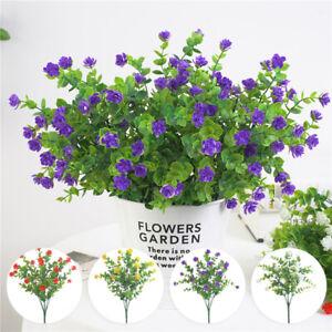 Artificiel-Fleur-avec-Fleurs-Decoration-Simulation-35cm-Plastique-Eucalyptus