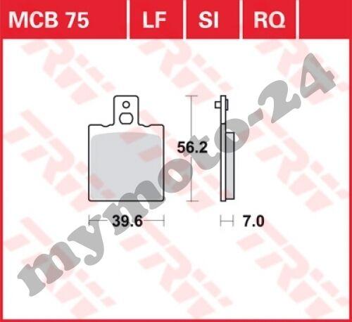 Bremsbelag Moto Guzzi V65 SP 650 PG Bj 1982 TRW Lucas MCB75