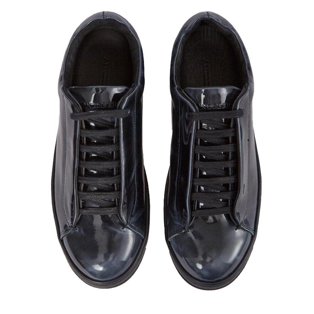 J. LINDEBERG Peekaboo Eléctrico De Cuero Negro Para hombre Zapatillas EU 44  225 Nuevo Sin Caja