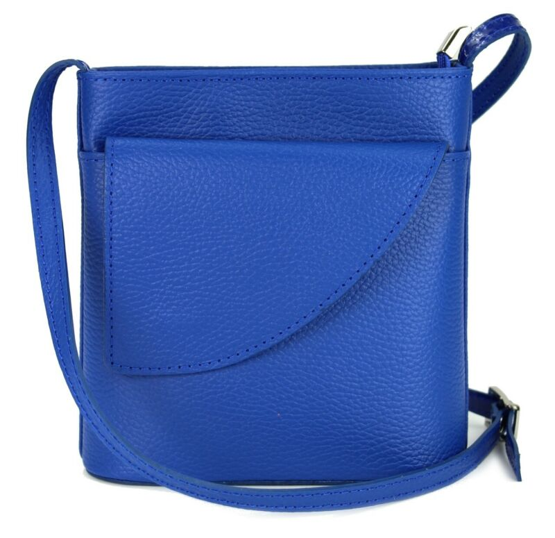 Belli Small Leather Shoulder Bag Shoulder Bag Handbag Ladies Royal Blue