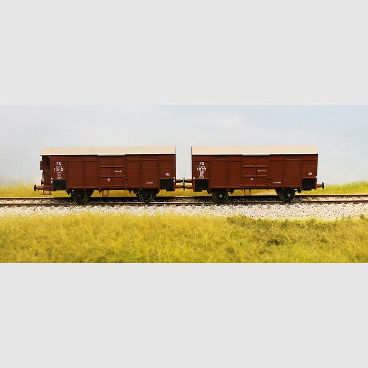 Set di due carri tipo F delle FS - Art. Acme 45103