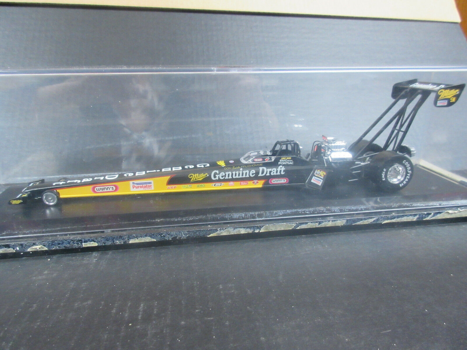 1995 Limited Edition Larry Dixon Jr. Dragster genuine draft 1 24th