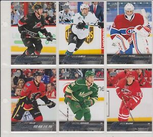2015-16-LOT-OF-6-UPPER-DECK-ROOKIES-YOUNG-GUNS-NO-YG-377