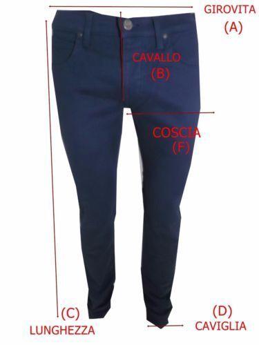 Uomo Chino America Energie 31 Pantaloni Cotone 32 Michy Dritto Nero 38 W Tasca dnxwEU