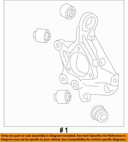 Chevrolet GM OEM 2016 Camaro Rear Suspension-Knuckle Spindle 23206823